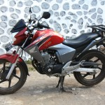 Honda Mega pro 150 cc for two people