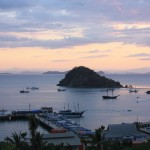 Labuan Bajo - a fishing town at the western end of Flores