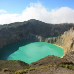 Coloured crater lakes of the Kelimutu volcano